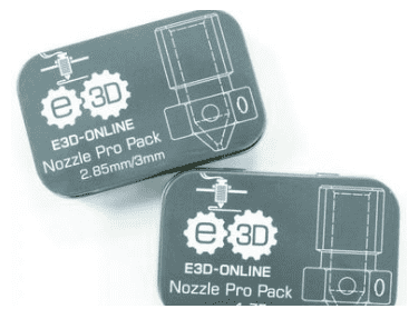 E3D v6 Extra Nozzle Pro Pack 1.75mm - Ultimate 3D Printing Store