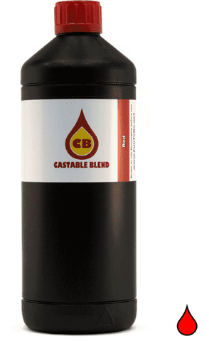 Fun To Do - Castable Blend - Red - Ultimate 3D Printing Store