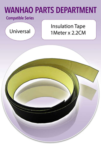 Insulation Tape 1 Meter x 2.2 cm * Wire Protector * 3D Printer Accessories * 3D Printer Spare Parts-Ultimate 3D Printing Store