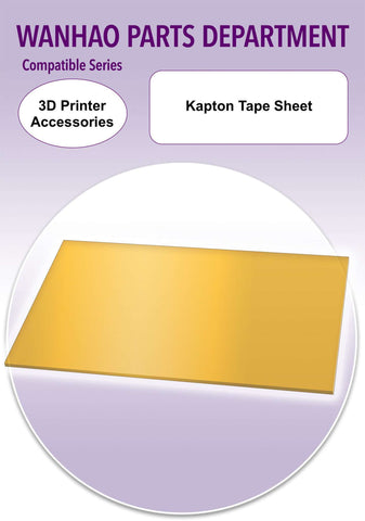 Kapton Tape Sheet - 3D Printer Accessories - Ultimate 3D Printing Store