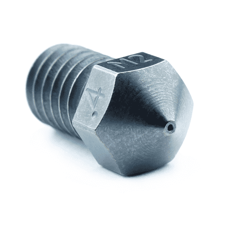 M2 Hardened High Speed Steel Nozzle RepRap - M6 Thread 1.75mm Filament - Micro Swiss - Ultimate 3D Printing Store