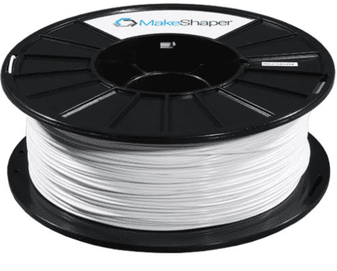 MakeShaper/KVP - Elite PLA - White - Ultimate 3D Printing Store