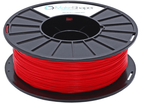 MakeShaper/KVP - PETG - Red - Ultimate 3D Printing Store