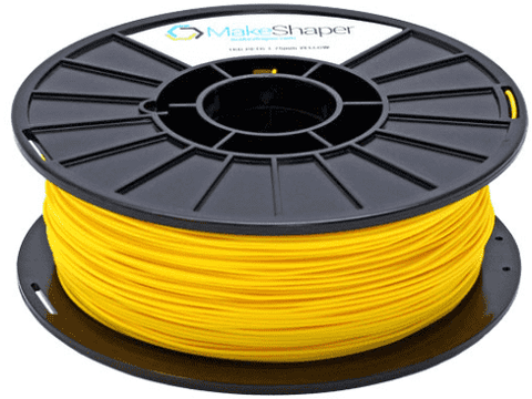 MakeShaper/KVP - PETG - Yellow - Ultimate 3D Printing Store