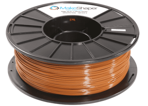 MakeShaper/KVP - PLA - Brown - Ultimate 3D Printing Store