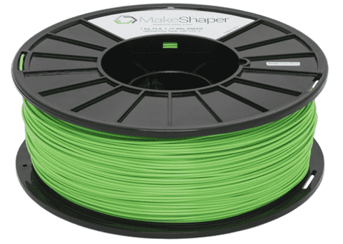 MakeShaper/KVP - PLA - Green - Ultimate 3D Printing Store