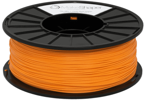 MakeShaper/KVP - PLA - Neon Orange - Ultimate 3D Printing Store