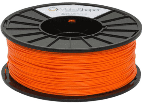 MakeShaper/KVP - PLA - Orange - Ultimate 3D Printing Store
