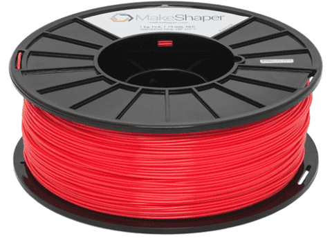 MakeShaper/KVP - PLA - Red - Ultimate 3D Printing Store