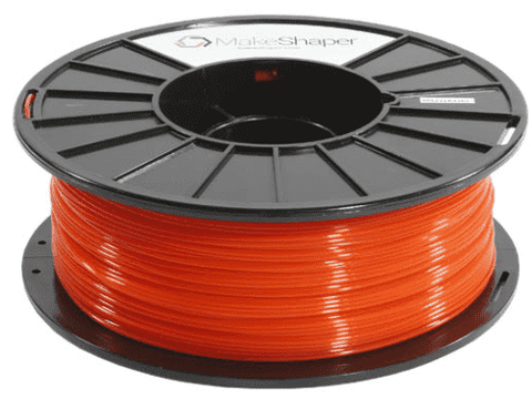 MakeShaper/KVP - PLA - Translucent Orange - Ultimate 3D Printing Store