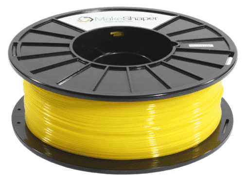 MakeShaper/KVP - PLA - Translucent Yellow - Ultimate 3D Printing Store