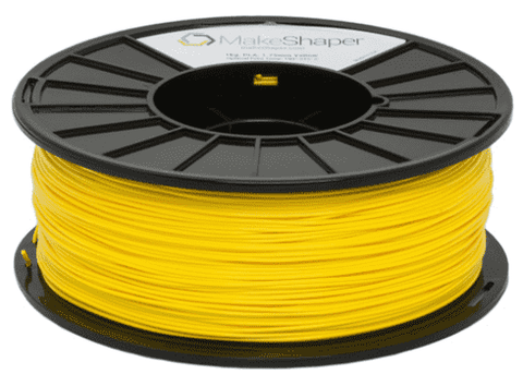 MakeShaper/KVP - PLA - Yellow - Ultimate 3D Printing Store