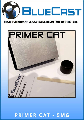 Primer Cat 5MG - Bluecast Castable Resin - Ultimate 3D Printing Store