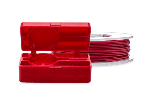 Red - Ultimaker TPU-95A Filament 2.85mm (750g) - Ultimate 3D Printing Store