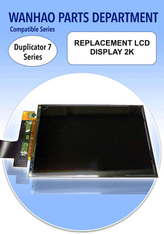 REPLACEMENT LCD DISPLAY 2K - WANHAO DUPLICATOR 7