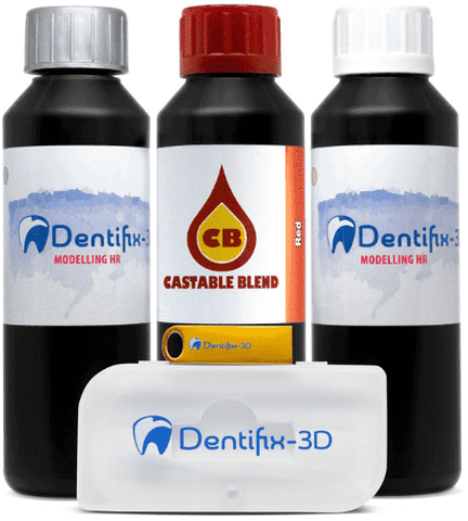 SP3 Fun To Do - Set Dentifix + Castable Sampler - Ultimate 3D Printing Store