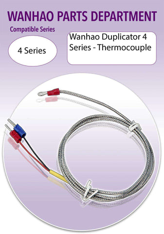 WANHAO Duplicator 4 Series 3D Printer Parts- Thermocouple K Type-Ultimate 3D Printing Store