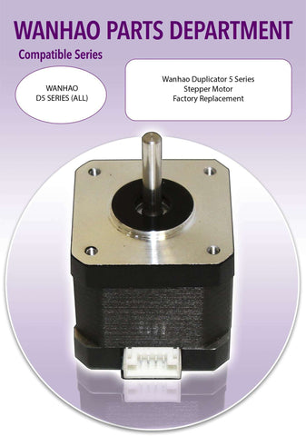 WANHAO Duplicator 5 Series 3D Printer Parts- Stepper Motor - Ultimate 3D Printing Store