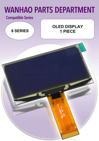 Display, OLED Display by Wanhao for Duplicator 6 Series