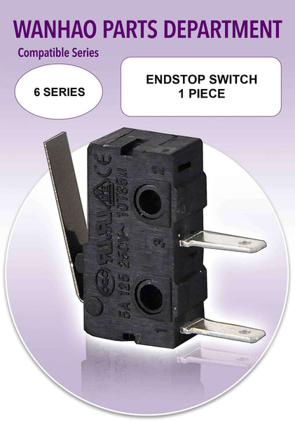 Wanhao Duplicator 6 Series 3D Printer Parts - Endstop Switch - Ultimate 3D Printing Store