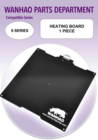 Heating Board by Wanhao for Duplicator 6 Series
