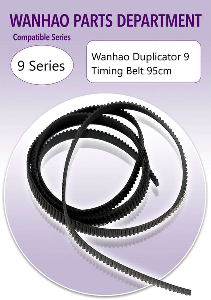 WANHAO DUPLICATOR 9 D9/300 ONLY - TIMING BELT - 95cm - Ultimate 3D Printing Store