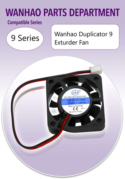 WANHAO DUPLICATOR 9 - EXTRUDER FAN - Ultimate 3D Printing Store
