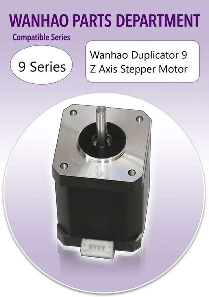 WANHAO DUPLICATOR 9 - Z AXIS STEPPER MOTOR - NEWER MODELS - Ultimate 3D Printing Store