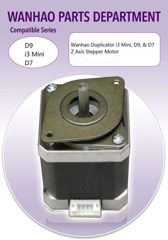 WANHAO DUPLICATOR - D9 Z,Y - i3 Mini Z - D7 Z - Z AXIS STEPPER MOTOR