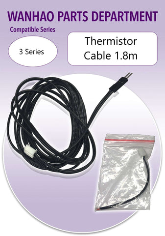 Wanhao Duplicator i3 - 3 Series 3D Printer Parts- Thermistor Cable 1.8m