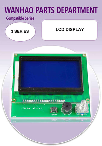 LCD Display by Wanhao for Duplicator i3 and 3 Series