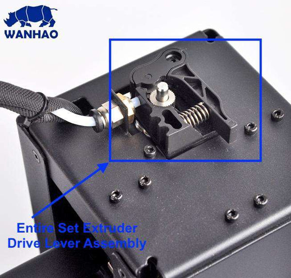 WANHAO DUPLICATOR i3 MINI - ENTIRE SET EXTRUDER DRIVE LEVER ASSEMBLY - Ultimate 3D Printing Store