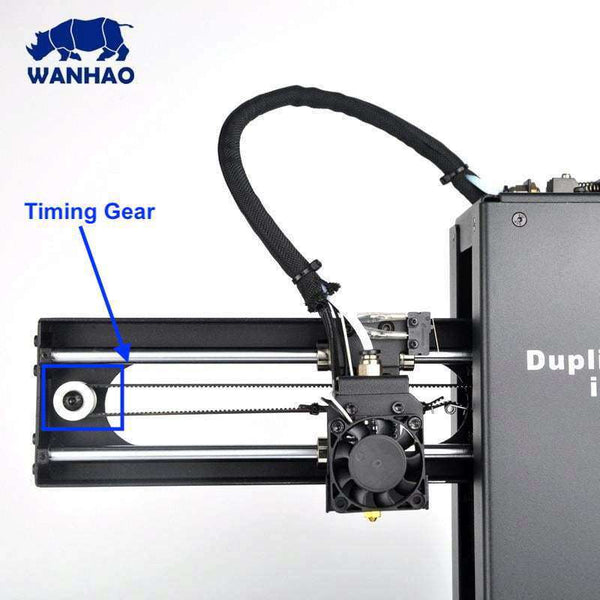 WANHAO DUPLICATOR i3 MINI - TIMING GEAR - Ultimate 3D Printing Store