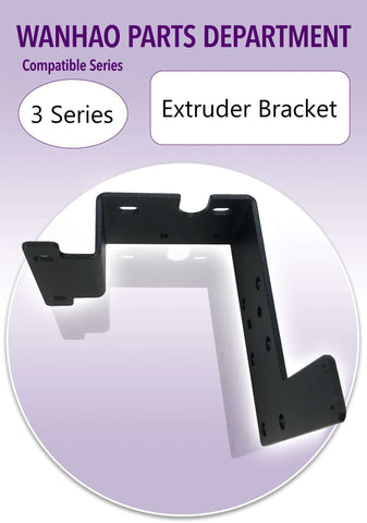 Wanhao Duplicator i3 Plus 3D Printer Parts - extruder bracket - Ultimate 3D Printing Store