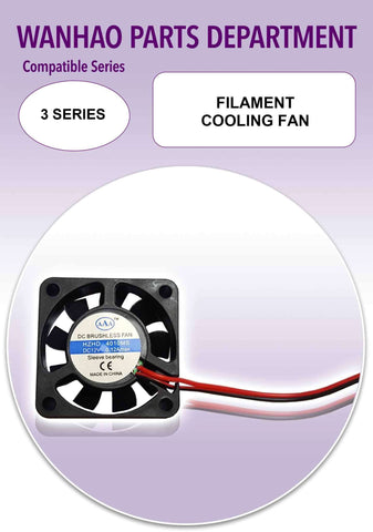 Filament Cooling Fan by Wanhao for Duplicator i3 Plus