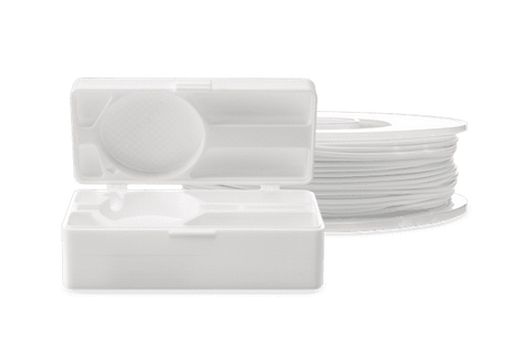 White - Ultimaker TPU-95A Filament 2.85mm (750g) - Ultimate 3D Printing Store