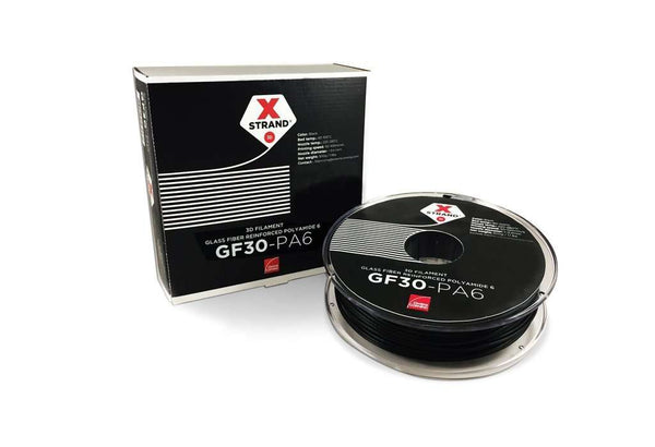 XStrand™ GF30-PA6 - 1.75MM - 2.2KG - Black - Ultimate 3D Printing Store