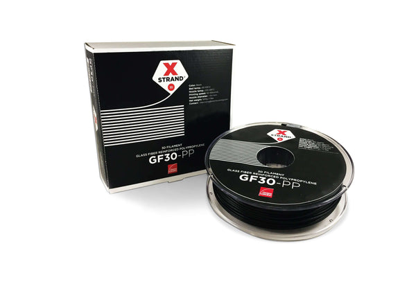 XStrand™ GF30-PP - 1.75MM - 500G - Black - Ultimate 3D Printing Store