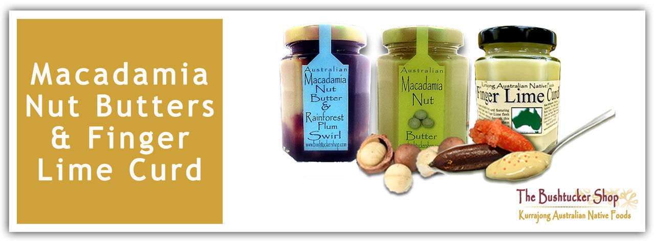 Macadamia Nut Butter and Finger Lime Curd Collection