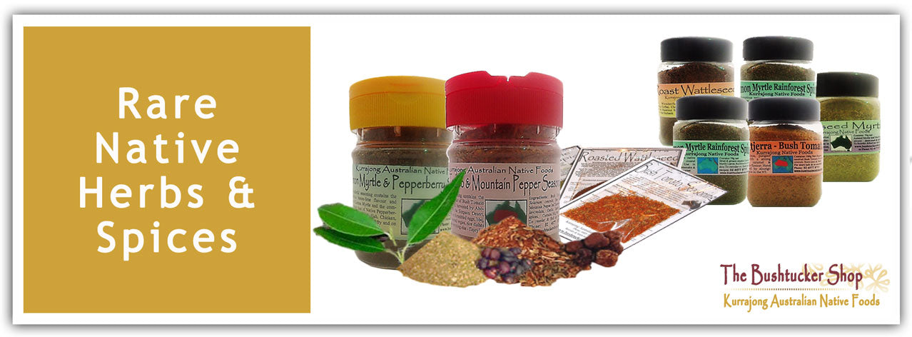 Rare Native Herbs & Spices