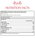 Wild Hibiscus 11 Flower Nutrition Facts
