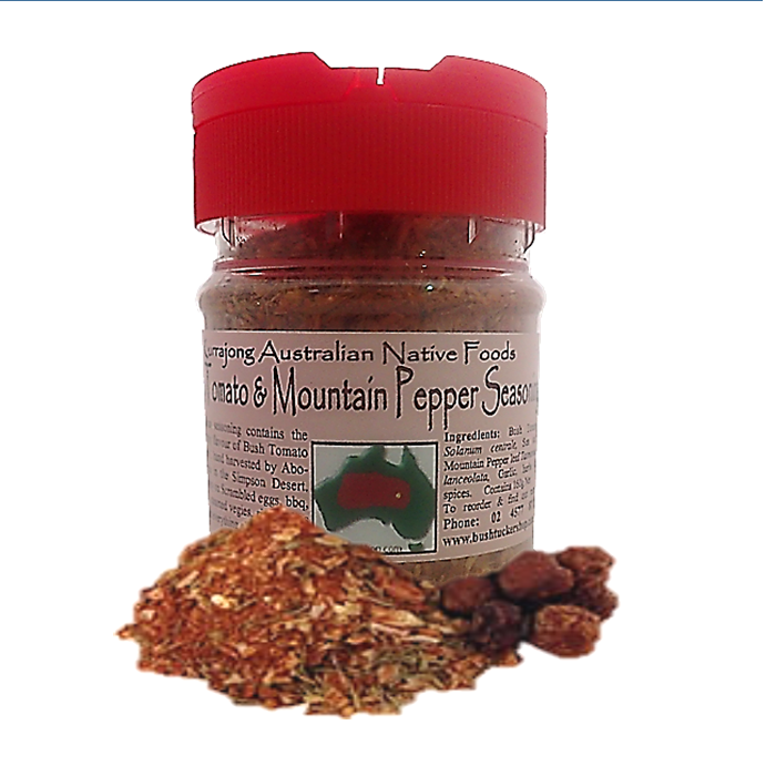 Bush Tomato Mountain Pepper Seasoning Pet Jar 165g