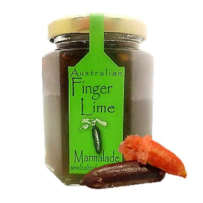 Finger Lime Marmalade Large Jar 195g