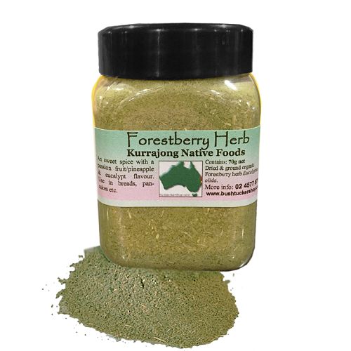 Forest berry herb gourmet bushtucker kurrajong for Australian cuisine facts