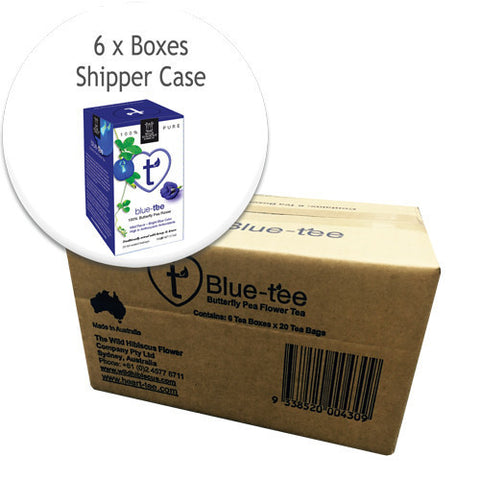 6 UNIT PACK - Heart-Tee Blue Tea (Butterfly Pea Flowers)