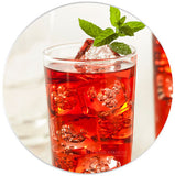 Hibiscus Flower Extract Iced Drink