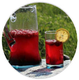 Hibiscus Heart Tee Summer Cooler
