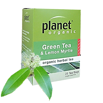 Lemon Myrtle Green Tea Box 25bags