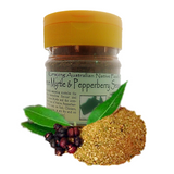 Lemon Myrtle Native Pepper Seasoning Pet Jar 140g