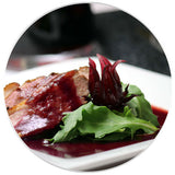 Wild Hibiscus Glazed Duck